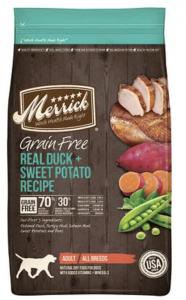 Merrick Dog Food   Read Duck and Sweet Potato Recipe   Dogfood.guru