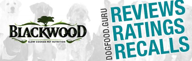 Blackwood Dog Food Reviews, Ratings & Recalls