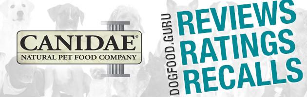 Canidae Dog Food Reviews, Ratings & Recalls