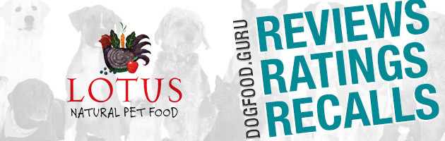 Lotus Dog Food Reviews, Ratings & Recalls