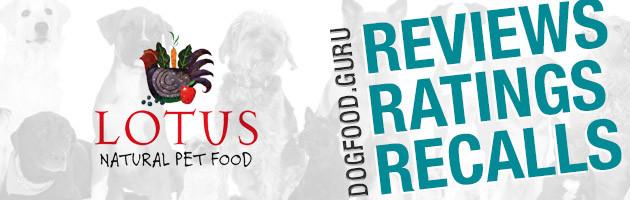 Lotus Dog Food Reviews, Ratings & Recalls