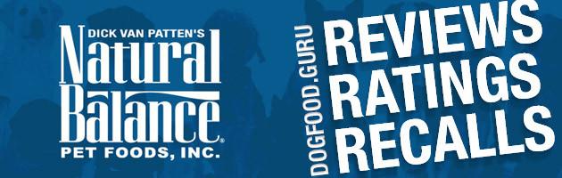 Natural Balance Dog Food Reviews, Ratings & Recalls