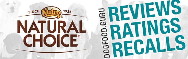 Natural Choice Dog Food Reviews, Ratings & Recalls