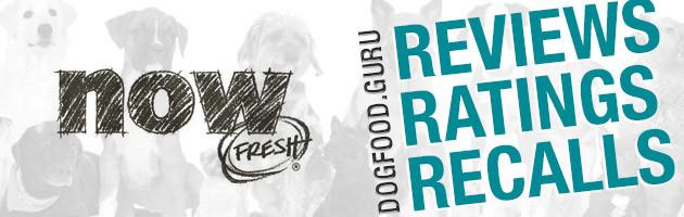 Now Fresh Dog Food Reviews, Ratings & Recalls