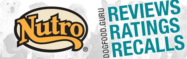 Nutro Dog Food Reviews, Ratings & Recalls