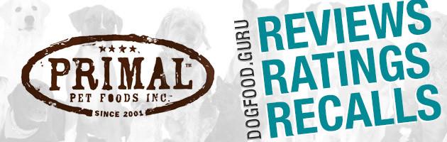 Primal Dog Food Reviews, Ratings & Recalls