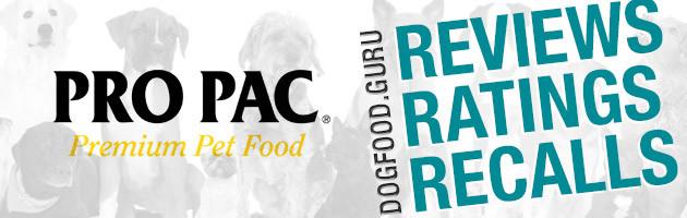 ProPac Dog Food Reviews, Ratings & Recalls