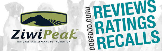 ZiwiPeak Dog Food Reviews, Ratings & Recalls
