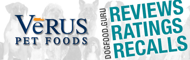 VeRus Dog Food Reviews, Ratings and Recalls