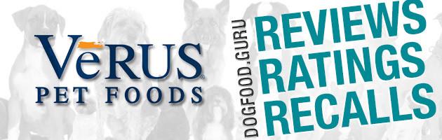 VeRus Dog Food Reviews, Ratings and Recalls