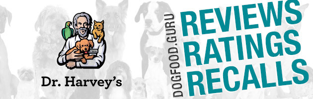 Dr. Harvey's Dog Food Review, Rating & Recalls