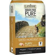 Best Dog Food For Boston Terriers | Canidae Grain Free Pure Foundations Puppy Formula | Dogfood.guru