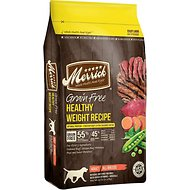 best dog food merrick healthy weight