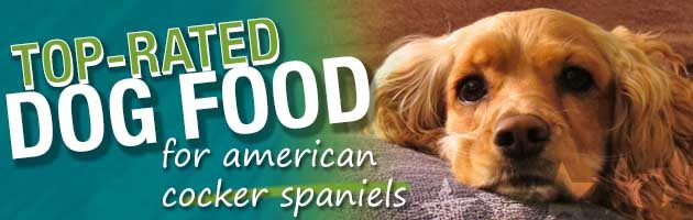 Best Dog Food American Cocker Spaniels