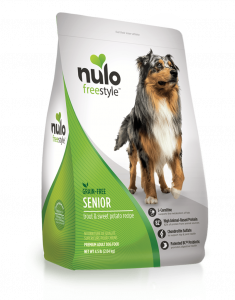 nulo senior dog food