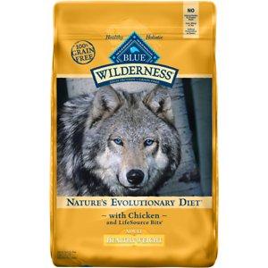 Blue Buffalo Wilderness Healthy Weight Chicken Recipe Dog Food