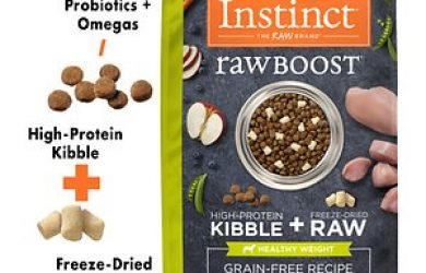 Instinct by Nature's Variety Raw Boost Healthy Weight Grain-Free Chicken Recipe Dry Dog Food