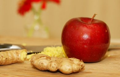 ginger apple dog treat