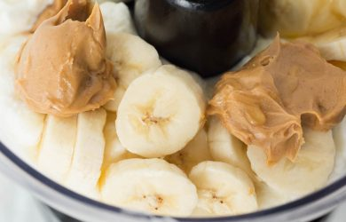 peanut butter banana oat dog treat recipe