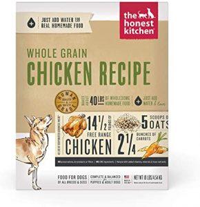 The Honest Kitchen - whole grain kitchen receipt